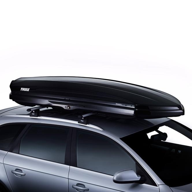 bagageiro maleiro de teto thule dynamic 430 litros de. Black Bedroom Furniture Sets. Home Design Ideas
