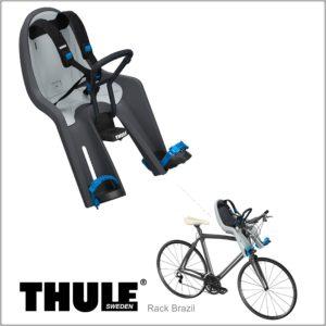 Cadeirinha dianteira para bicicleta Thule RideAlong Mini Cinza Dark Gray