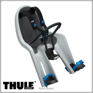 Cadeirinha dianteira para bicicleta Thule RideAlong Mini Cinza