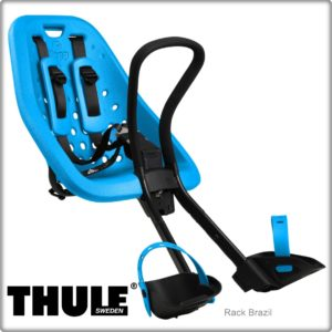 Cadeirinha dianteira para bicicleta Thule Yepp Mini Azul